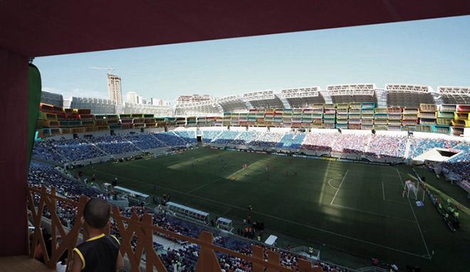 Un uso alternativo degli stadi in Brasile