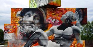 Pichi & Avo - Containers graffiti