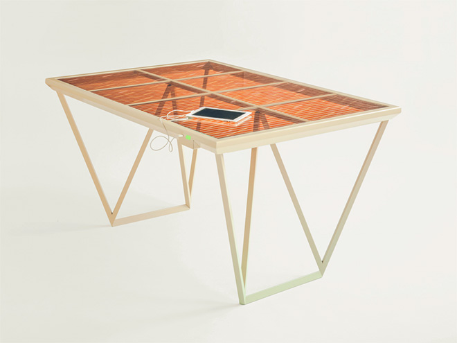 Current table - Marjan Van Aubel