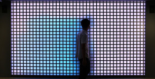 Color Kinetics Interactive LED facade