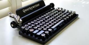 Qwerkywriter - La macchina da scrivere come tastiera