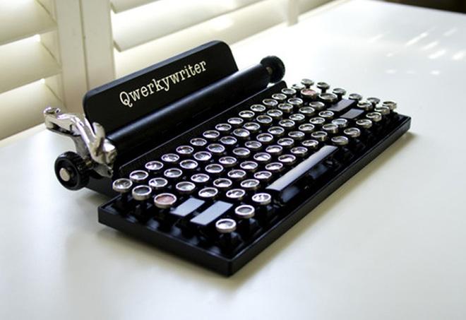 Qwerkywriter – La macchina da scrivere come tastiera