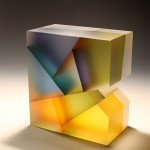 Jiyong Lee – Segmentation, glass sculptures