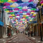 Umbrella Sky – Installation