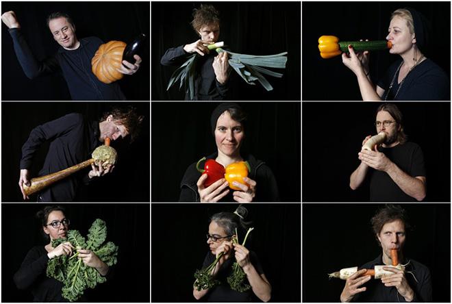 Vienna's vegetable orchestra