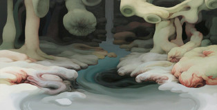 Jung-Yeon Min - 4 minutes, Acrylic on Canvas, 2009