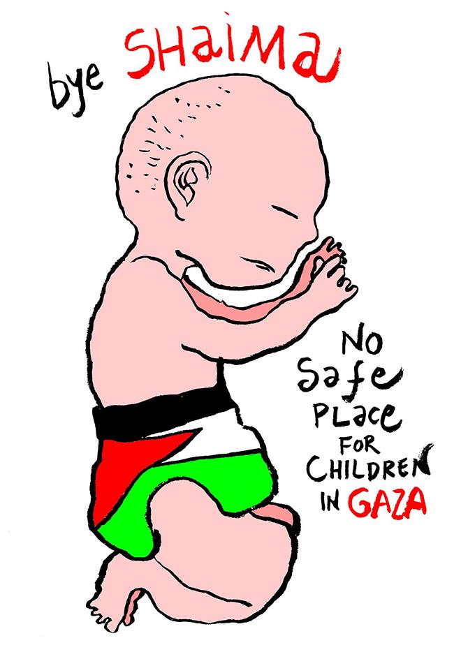 Stop Bombing Gaza