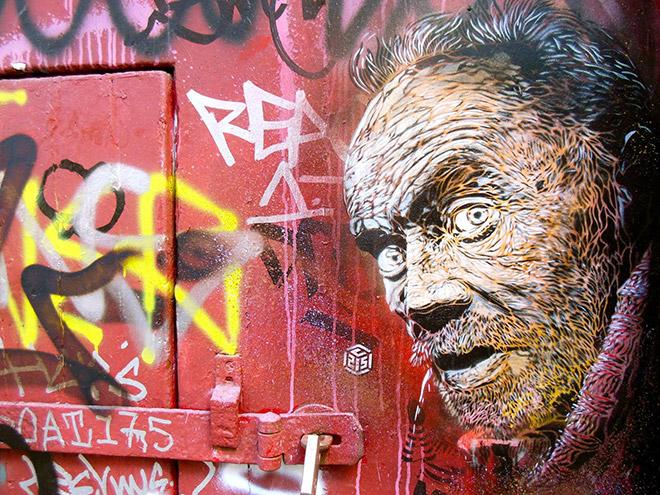 Stencil art London