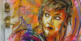 C215 - Stencil art - Art Vibes