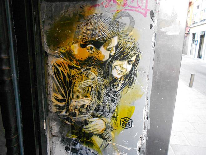 Stencil art Madrid