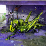 Bordalo II – Street Art con materiali di recupero