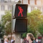The dancing traffic light – Waiting fun