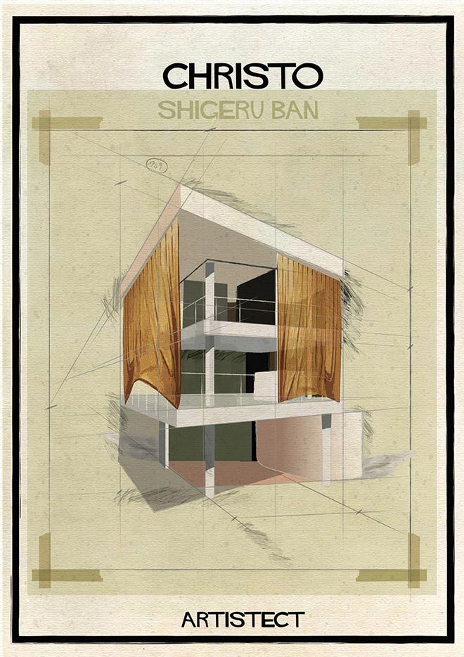 Christo + Shigeru Ban