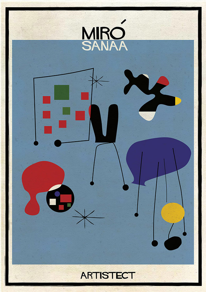 Artistec,  Mirò + Sanaa