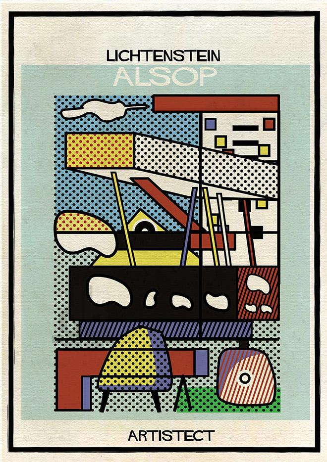 Artistec,  Lichtenstein + Alsop