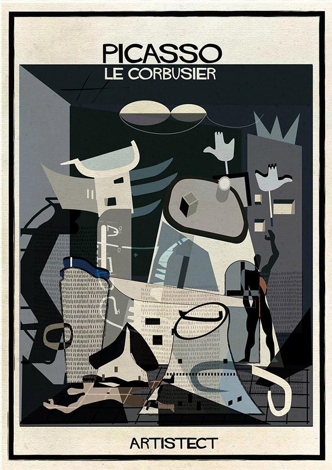 Federico Babina - Artistec, Picasso + Le Courbusier