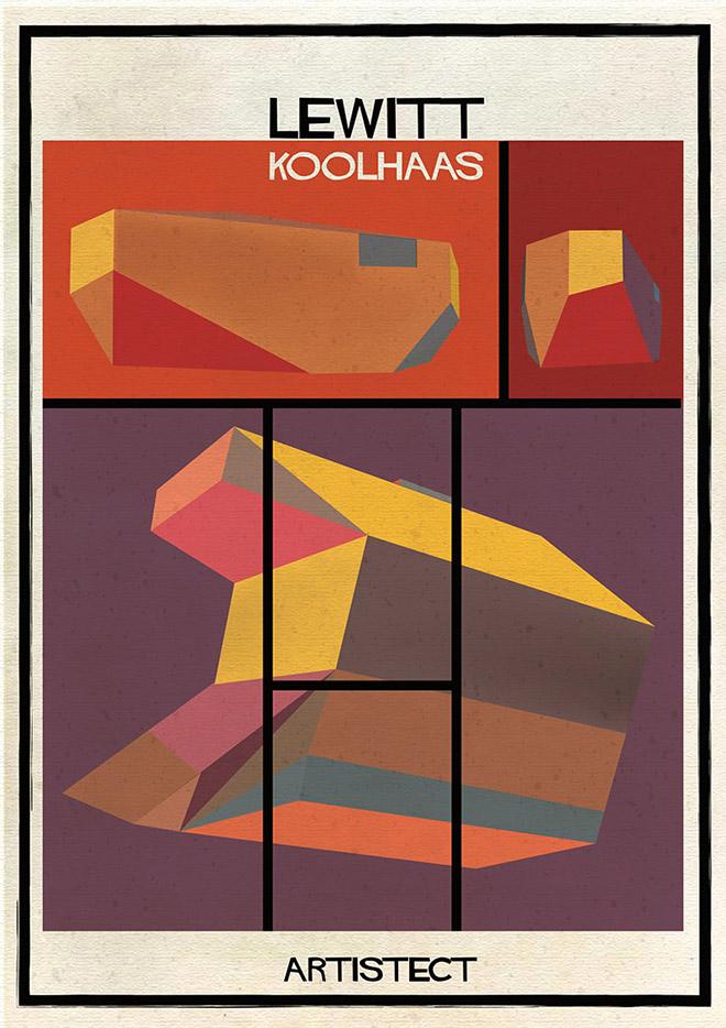 Artistec,  Lewitt + Koolhaas