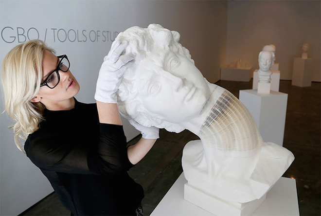 Li HongBo – Dynamic Paper Sculptures
