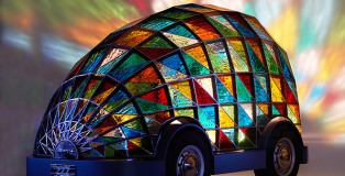 Dominic Wilcox - Stained-Glass driverless car