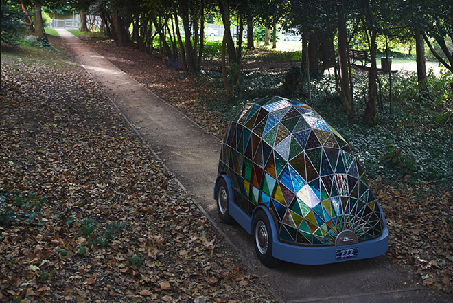 Stained-Glass driverless car