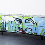 Street Capture – Graffiti become design furniture
