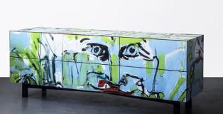 Street Capture - Graffiti becomes design furniture