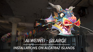 Ai Weiwei - @large, Installations on Alcatraz Islands