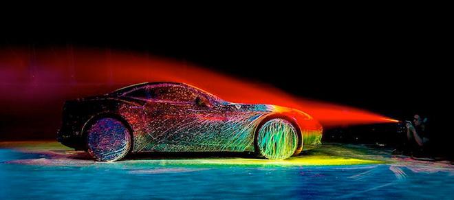 The art of form, Ferrari California T