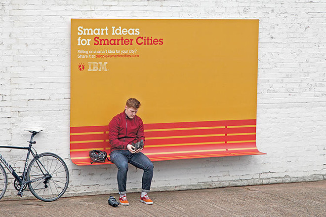 IBM, Smart Ideas for Smarter Cities - Ads with a new purpose