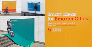 IBM - Smart Ideas for Smarter Cities - Ads with a new purpose