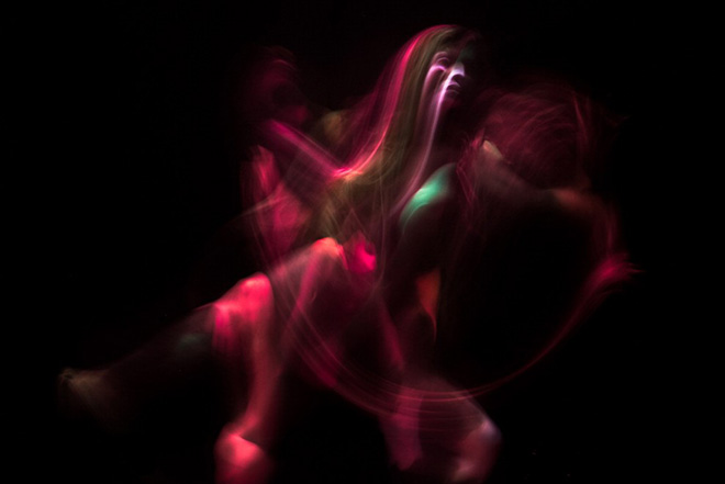 Magenta, Colors in Motion - Exploring body and movement trough photography and body art