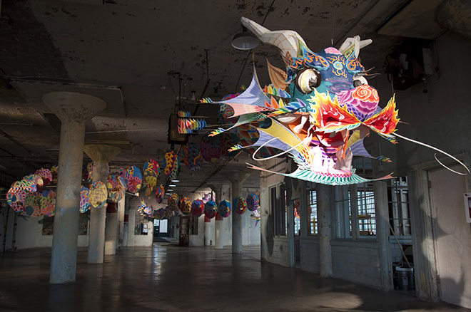 Ai Weiwei – @large, Installations on Alcatraz Islands