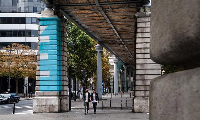Réalité installation in Paris