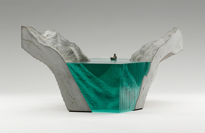 Ben Young – Glass sculptures