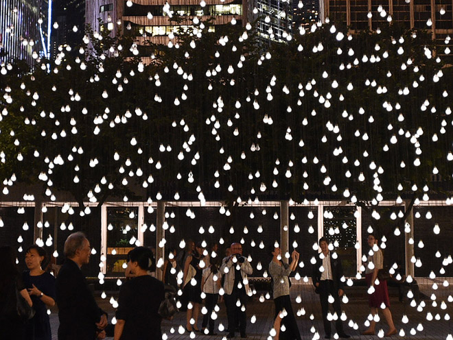 Scattered Light - Hong Kong installation