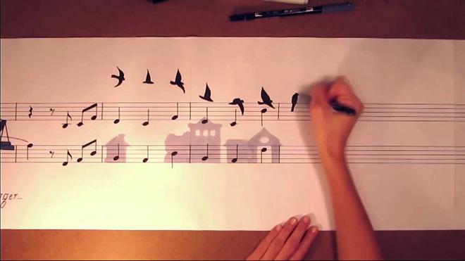 Matteo Negrin – Music Painting