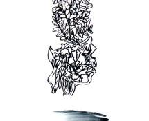 """Paolo Ferrante - Chaos Reigns, """"tecnica mista su pvc – 2012"""""""