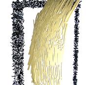 """Paolo Ferrante - Decoration, """"tecnica mista su pvc – 2012"""""""