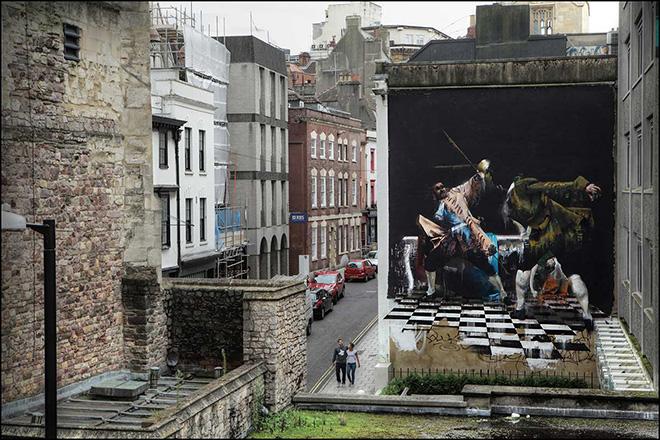 Conor Harrington - The Duel of Bristol, 2012. Photo credit: Ian Cox