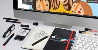 Adobe creative cloud moleskine - Paper + Digital