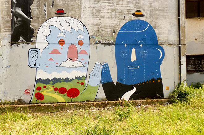 Agostino Iacurci – Street Art