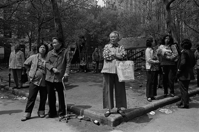 New York City's Chinatown in the 1980s