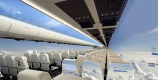Windowless plane - The future of flight