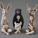 Crystal Morey – Sculture di ceramica
