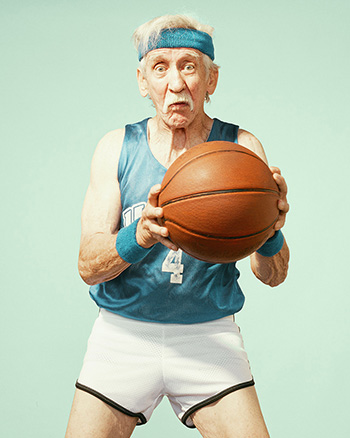 Golden years, photography series