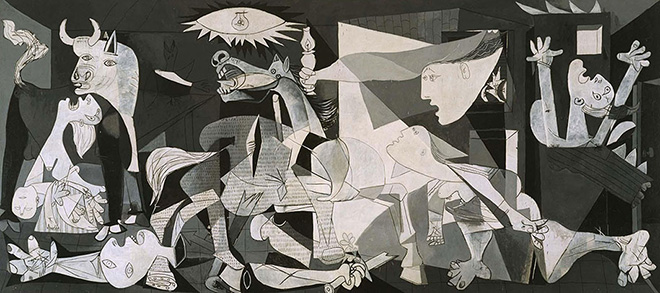 Hidden Spaces, Guernica (Pablo Picasso, 1937)