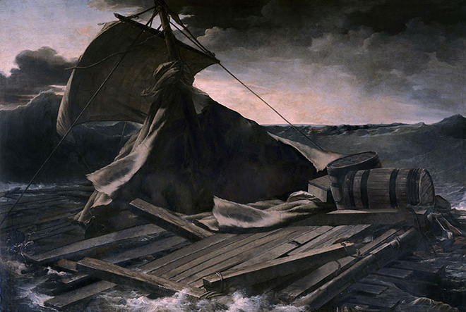 Hidden Spaces, The Raft of Medusa (Théodore Géricault, 1819)