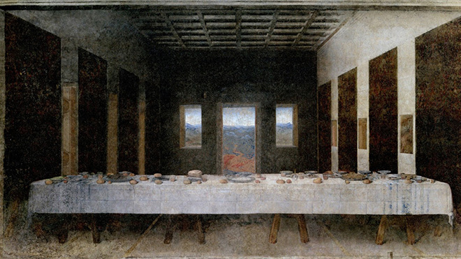 Hidden Spaces, The Last Supper (Leonardo da Vinci, 1498)