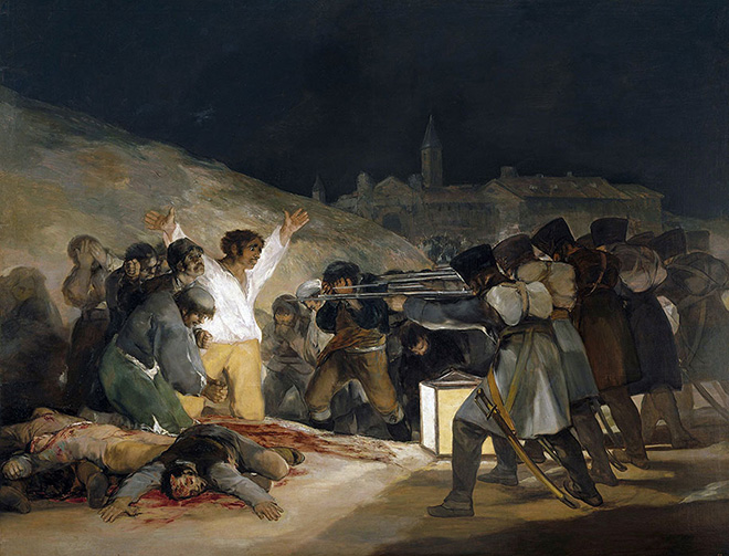 Hidden Spaces, The Third of May 1808 (Francisco Goya, 1814)