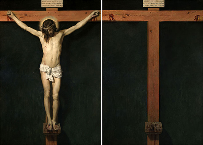 Hidden Spaces, Christ Crucified (Diego Velázquez,1632)